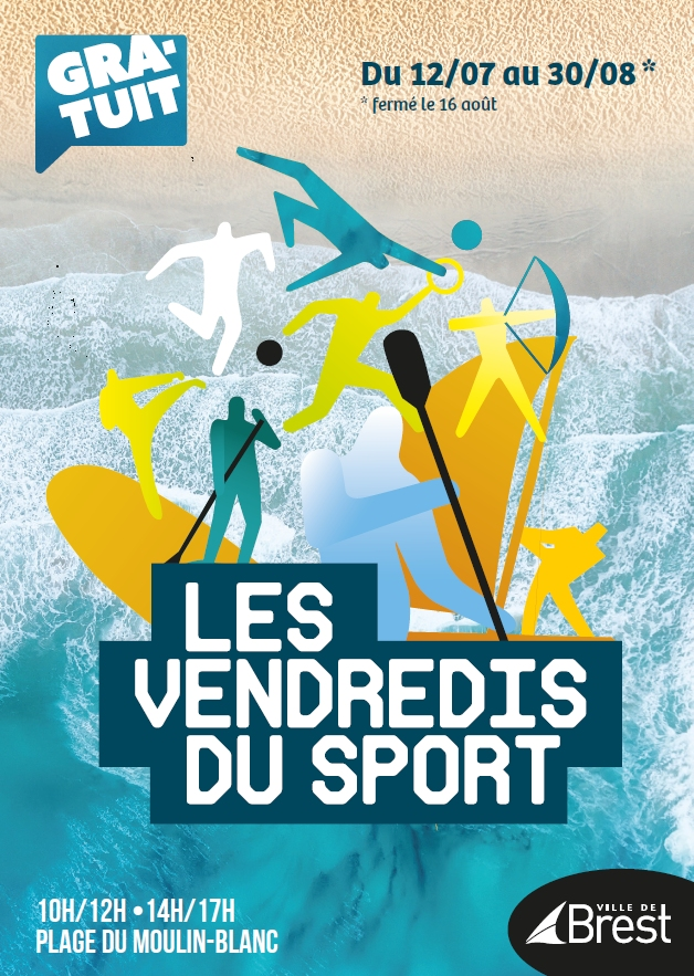 Affiche Vendredis du Sport 2019